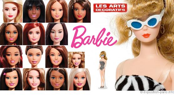 The poster for the Barbie at the Musée des Arts décoratifs in Paris