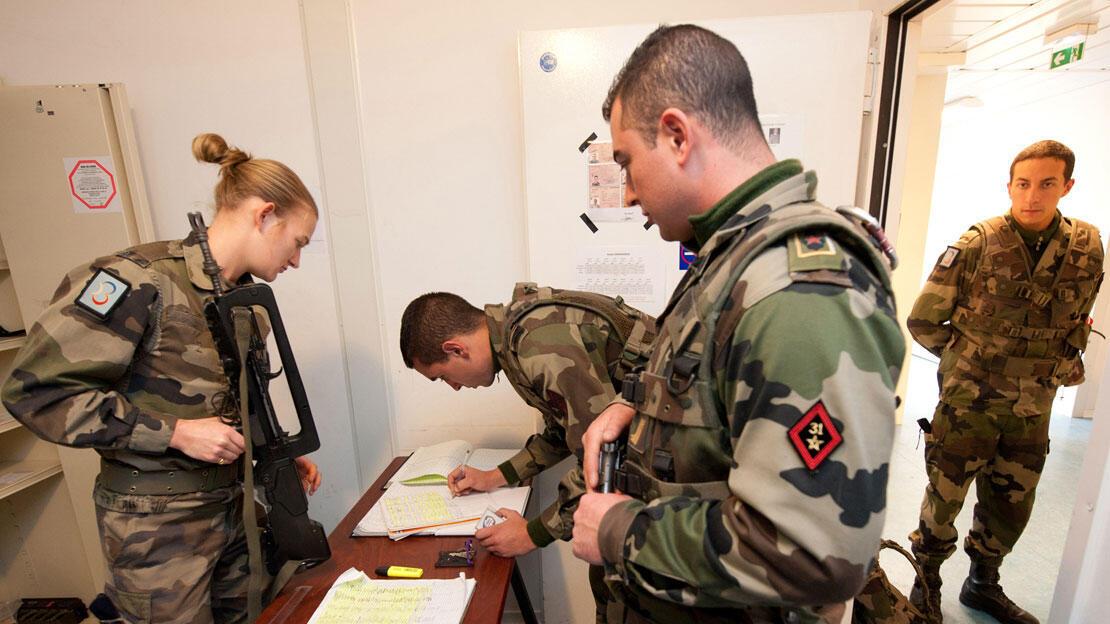 Recorde de candidatos: poucos chegarão a usar o uniforme do exército.