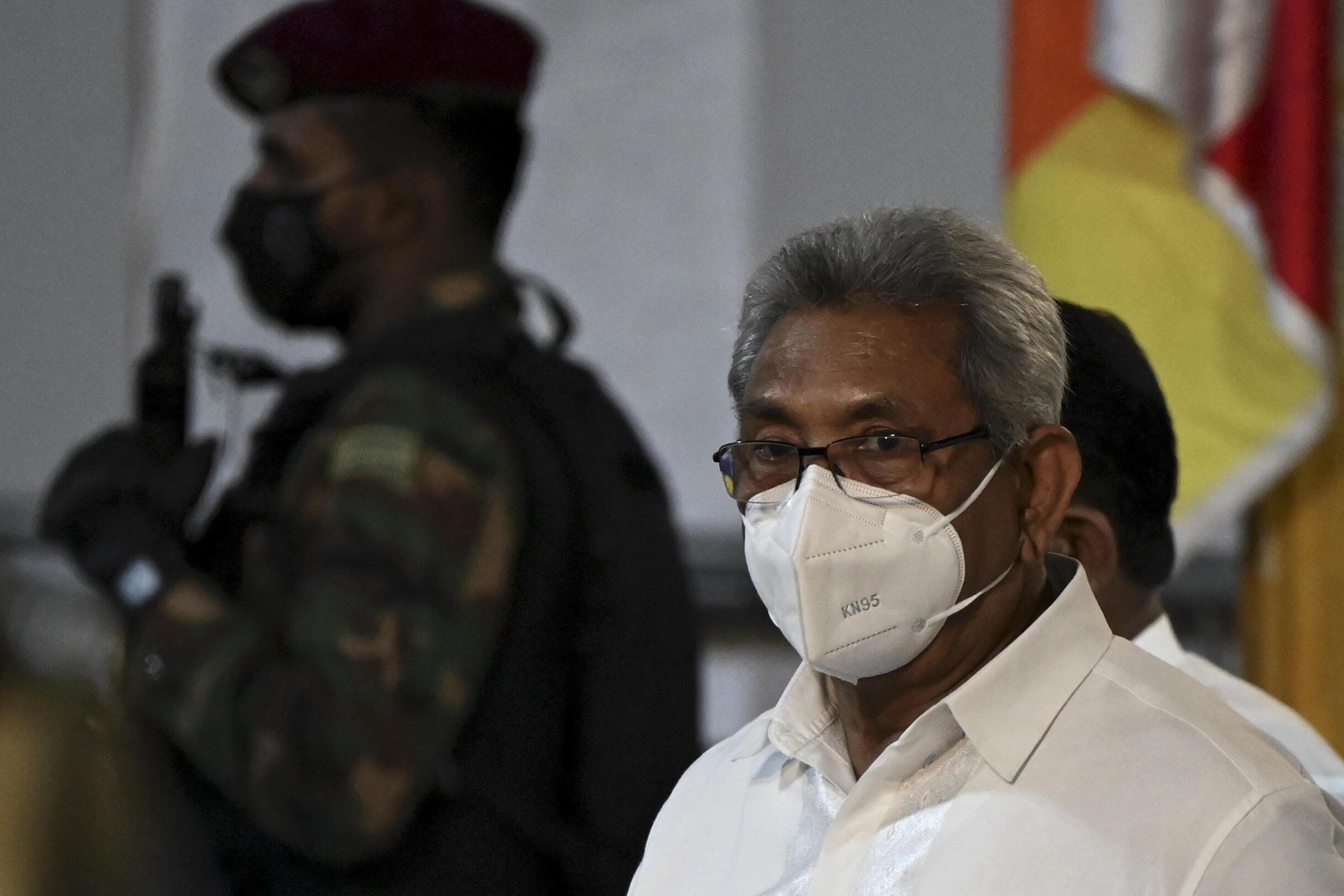 Sri lanka  Gotabaya Rajapaksa