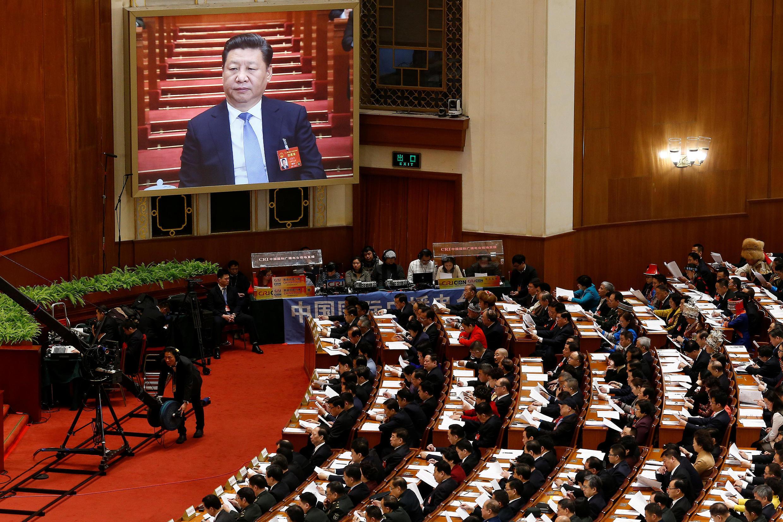 Cerca de 5.000 membros do Parlamento chinês estão reunidos em sua grande sessão anual até 15 de março.