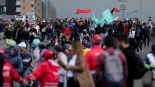 La mobilisation contre le gouvernement colombien début janvier 2020