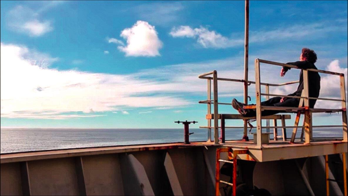 Dominique, bourlingueur des mers a embarqué sur la ligne des Antilles.