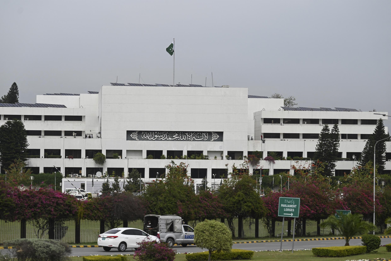 Image d'archive RFI - Le parlement Pakistanais, à Islamabad