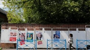 欧洲议会选举宣传海报