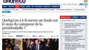 Difficile de tenir sa langue sur le nom du futur président de la république française avant 20h.