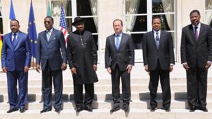 Francois Hollande da shugabannin wasu kasashe da ke taro kan Boko Haram