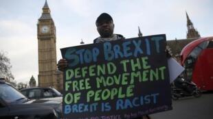 Mazauna Britaniya na zanga-zangar kin amince da ficewar kasar daga EU