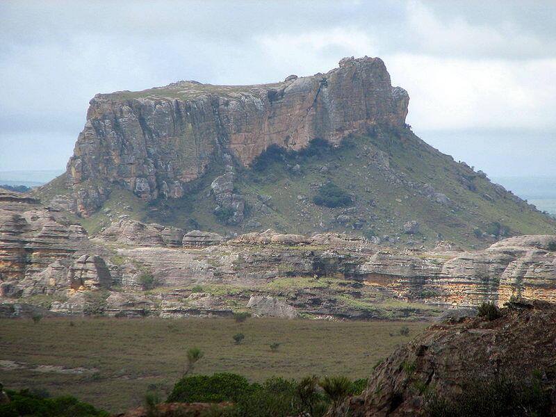 Le Parc national de l'Isalo, Madagascar.