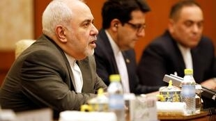 محمد جواد ظریف در سفر به چین