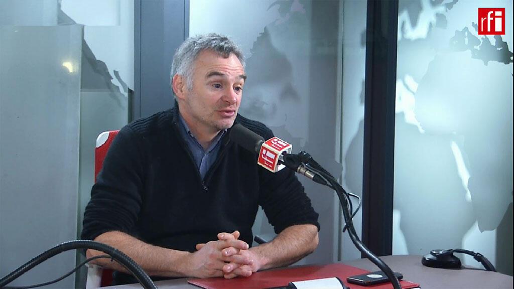 Laurent Pinatel, porte-parole de la Confédération paysanne sur RFI, le 12 février 2018.