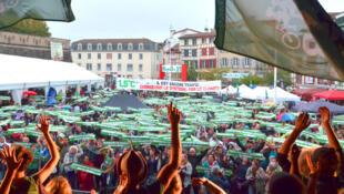 Mobilisation pour le climat à Bayonne-Alternatiba 2018
