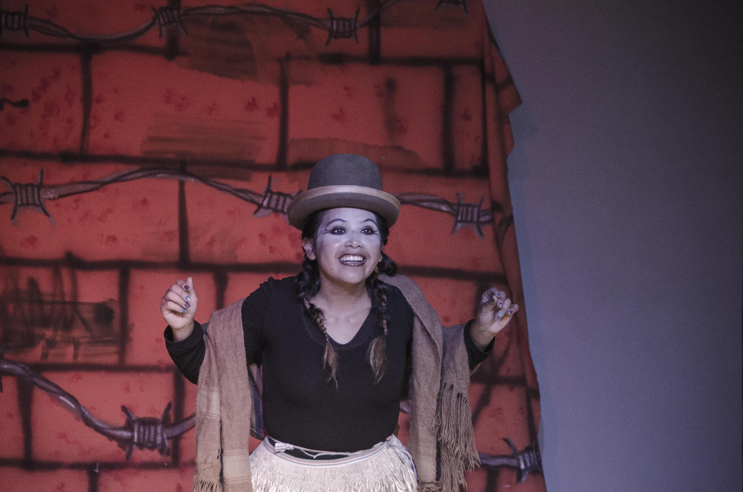 La compañía boliviana de teatro Trono se instaló en París durante una semana con una trilogía sobre los conflictos que han sacudido Bolivia en los últimos años.
