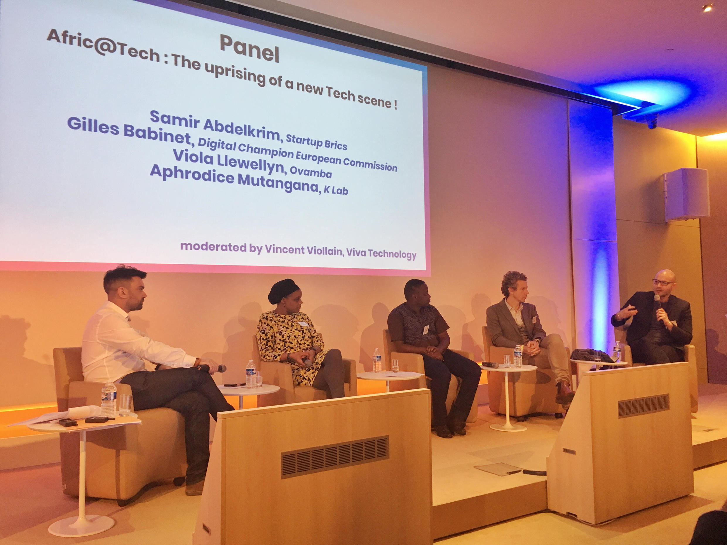 Llewellyn participates in the Afric@Tech panel on 21 March in Paris