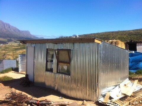 The iShack prototype at the Enkanini settlement outside Cape Town