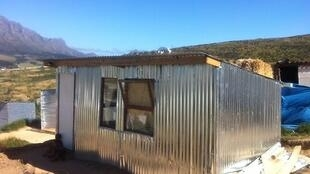 The iShack prototype at the Enkanini settlement outside Cape Town
