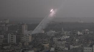Unos 350 obuses han sido lanzados desde Gaza contra territorio israelí desde el miércoles pasado.