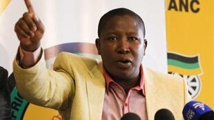 ANC youth league leader Julius Malema said he would not stop calling for Zimbabwe-style land seizures from white farmers