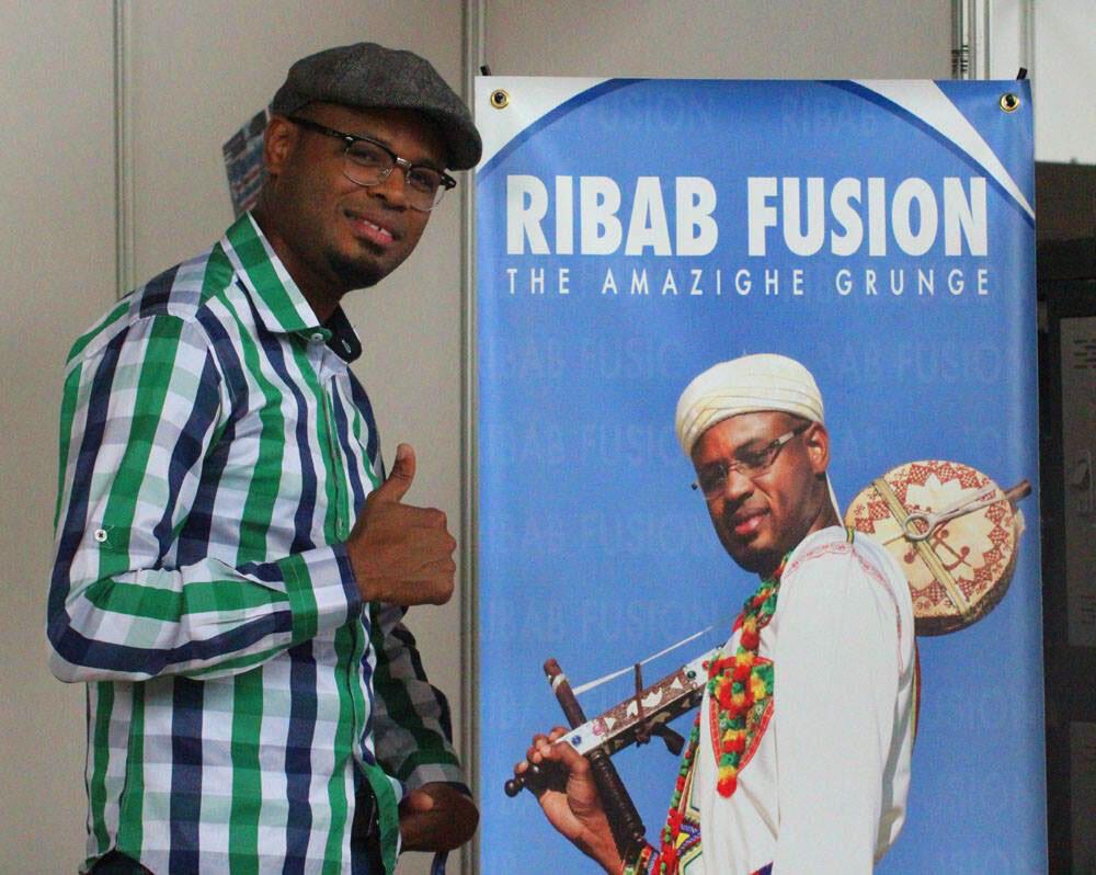 Foulane Bouhssine, violoniste de Ribab Fusion à Visa For Music Rabat.