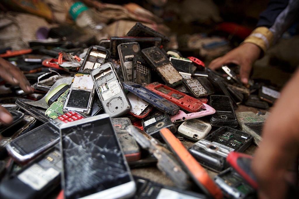 Déchets électroniques (Photo d'illustration).
