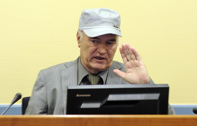 Ratko Mladic, o ex-chefe dos sérvios na Bósnia durante a primeira