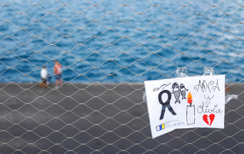 Desenho em memória da pequena Olívia, de seis anos, que teria sido morta pelo pai.