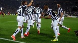 La Juventus est déjà en tête du championnat d'Italie.