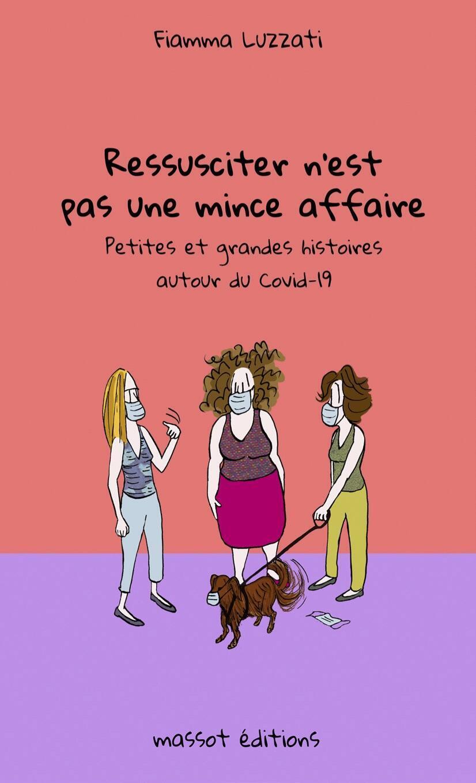 """La portada del libro """"Resucitar no es nada fácil""""de Fiamma Luzzati."""