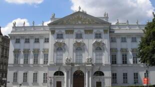 Le ministère fédéral de la Justice à Vienne, en Autriche.