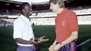 George Weah ya taka leda a kungiyoin kwallon kafa da suka hadar da Monaco, Paris Saint-Germain, Chelsea da kuma AC Milan.