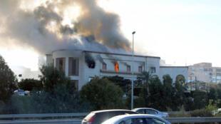 Ofisi ya Wizara ya Mambo ya nje jijini Tripoli nchini Libya