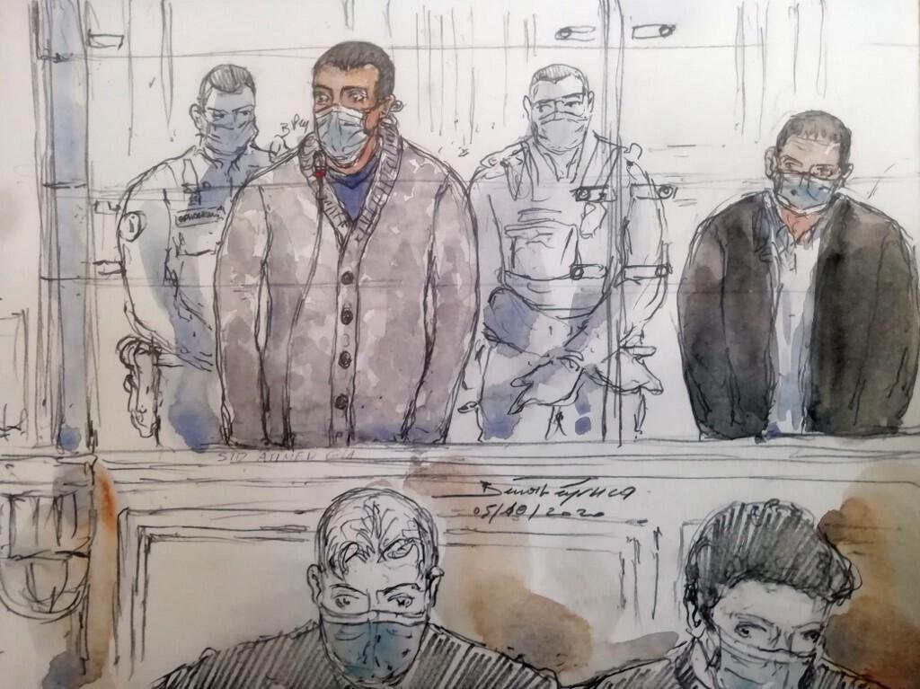 В Париже алжирца Сида Ахмеда Глама приговорили к пожизненному заключению за подготовку теракта в церкви и убийство