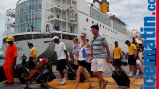 Passageiros de um Navio de Cruzeiro