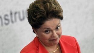 A presidenta Dilma Rousseff reforça parceria estratégica com a Alemanha.
