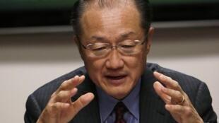 Le président de la Banque mondiale, Jim Yong Kim.
