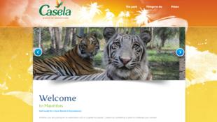 Site internet du parc de Casela.