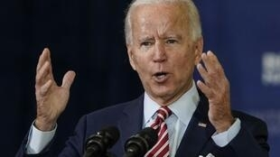 Democratic presidential nominee Joe Biden voiced his support for the Good Friday Agreement