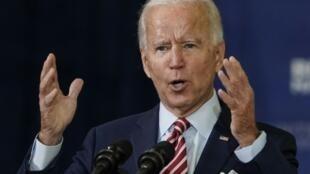 جو بایدن، نامزد دموکرات ها در انتخابات ریاست جمهوری