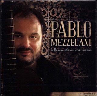 Portada de uno de los discos de Pablo Mezzelani.