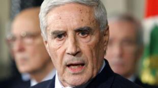 Gauche et droite soutiendront la candidature de Franco Marini pour le poste de président.