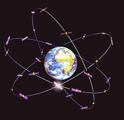 Система Galileo реализуется на орбите Земли с 2011 года.