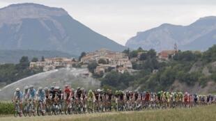 Les montagnes sont à l'honneur pendant le Tour de France.