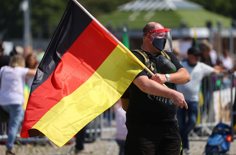 Allemagne - Manifestation contre mesures Covid-19