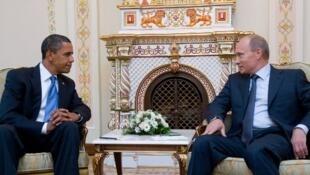 A l'approche d'une possible conférence sur la Syrie, les positions des deux principaux protagonistes, Etats-Unis et Russie, paraissent irréconciliables.