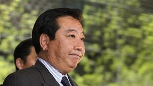 Japan's incoming Finance Minister Yoshihiko Noda