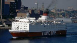 До того, как получить название «Эстония», паром носил название «Viking Sally»