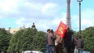 Акция «Тигров освобождения Тамил-Илама» в Париже