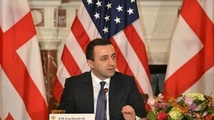 Премьер-министр Грузии Ираклий Гарибашвили, США, Вашингтон, 26 февраля 2014 года