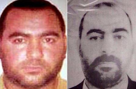 Abou Bakr al-Baghdadi ប្រមុខដឹកនាំរដ្ឋអ៊ីស្លាម ដែលតាំងខ្លួនជាព្រះចៅអ៊ីស្លាម calife.