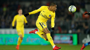 Paris Saint-Germain's Kylian Mbappé is expected to be among the stars of the latter stages of the Champions League tournament.2018