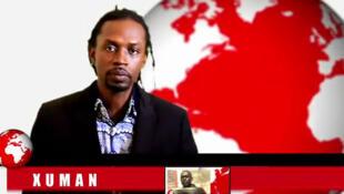 La star du hip-hop Xuman présente le journal «rappé» (capture d'écran).
